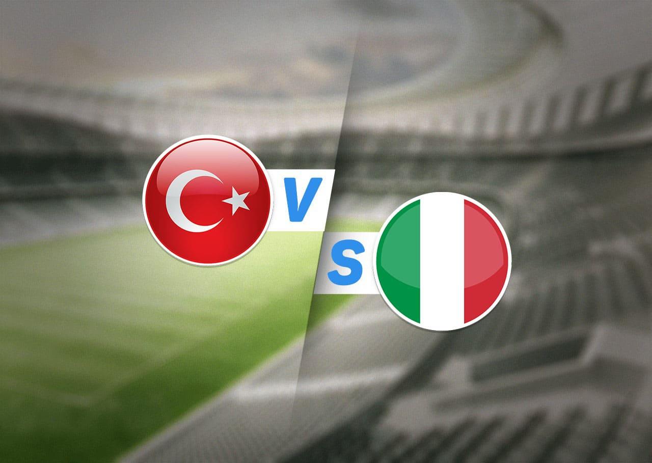 Группа A, Турция — Италия, 11.06.2021 22:00