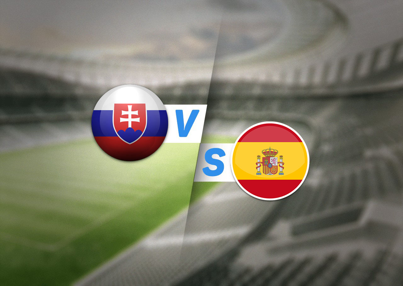 Группа E, Словакия — Испания, 23.06.2021 19:00