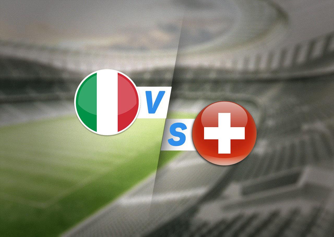 Группа A, Италия — Швейцария, 16.06.2021 22:00