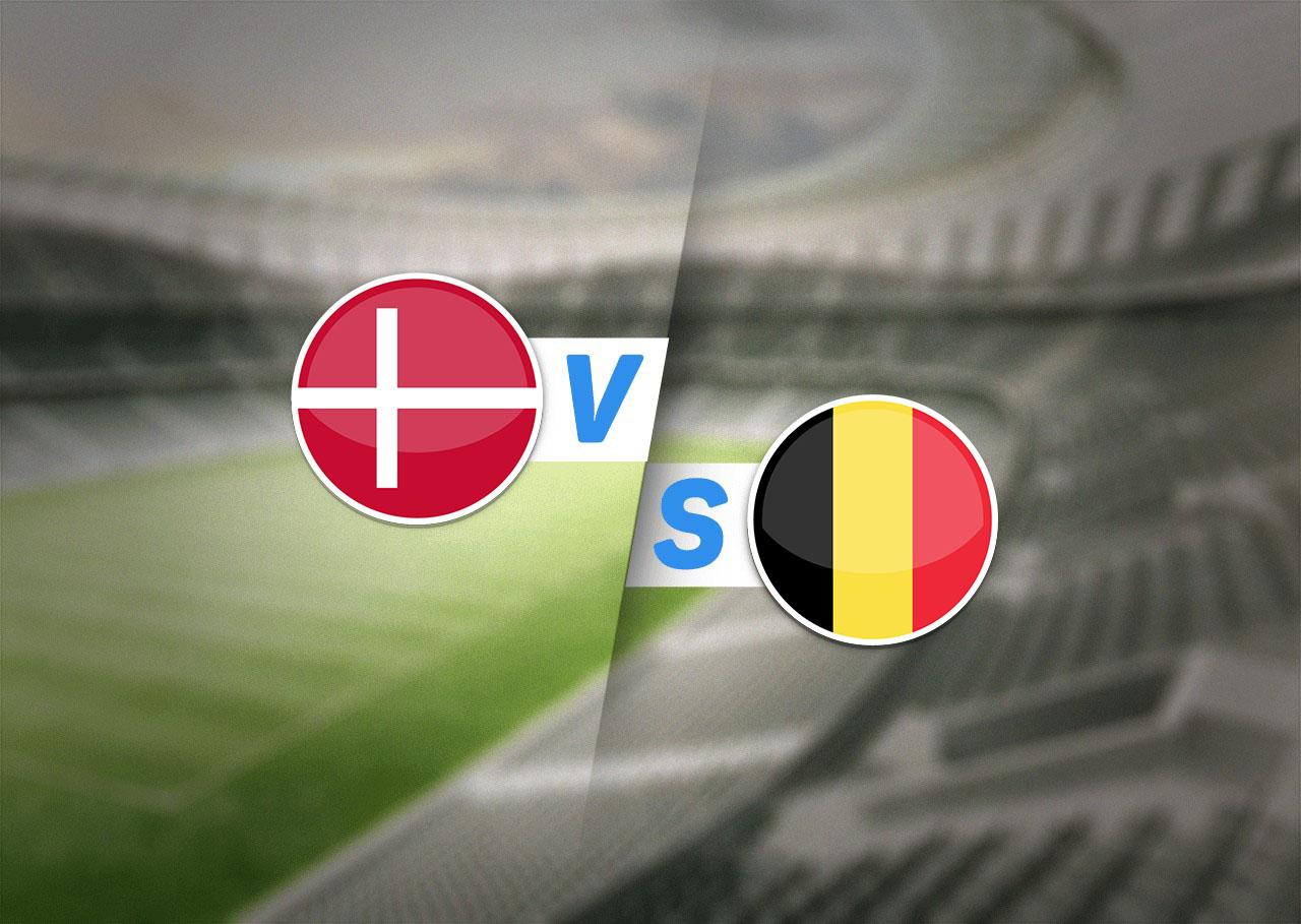 Группа B, Дания — Бельгия, 17.06.2021 19:00
