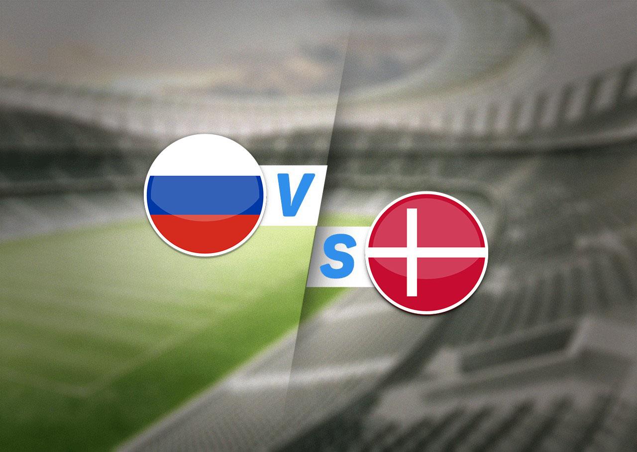 Группа B, Россия — Дания, 21.06.2021 22:00