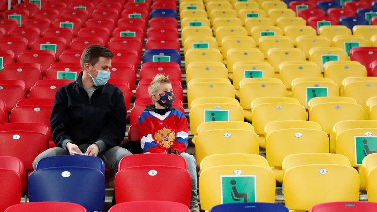 Матч третьего тура группового этапа Россия – Дания может пройти без российских болельщиков