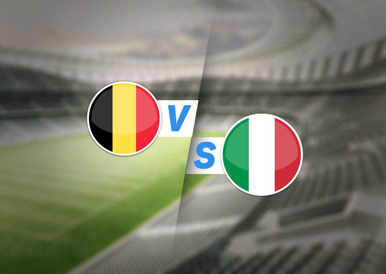1/4 финала, Бельгия — Италия, 02.07.2021 22:00