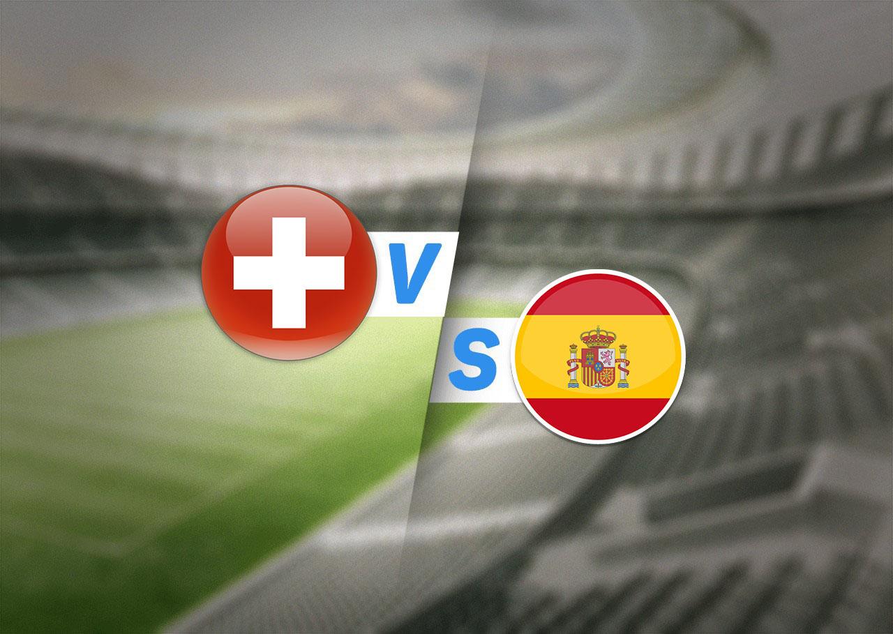 1/4 финала, Швейцария — Испания, 02.07.2021 19:00